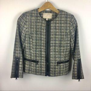 Banana Republic | Tweed Blazer Jacket | 0P